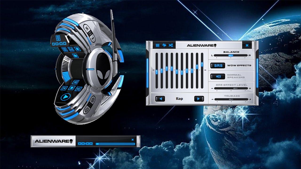 Tuto fr alienware media player futuriste personnaliser for Bureau futuriste