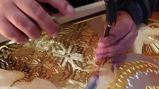 Чеканка Мастер Класс Уроки Чеканки для Начинающих Чеканка по Иконе по Левкасу Сумская Икона