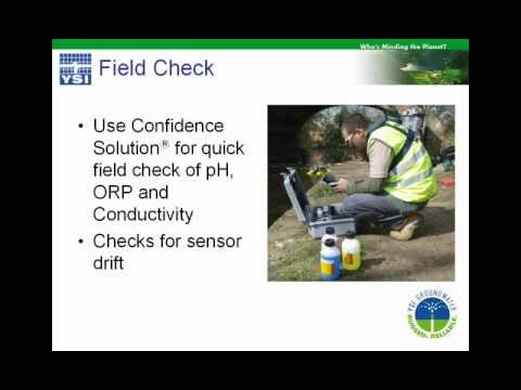 YSI Webinar | How to Obtain a Representative Groundwater Sample During Low Fow Purging
