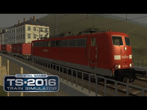 Dresden Schöna | Containerzug | Train Simulator 2016