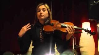 Il violino in pillole:corso online di violino di Kristina Mirkovic LEZ. 1 (Lezioni e Corsi a Milano)