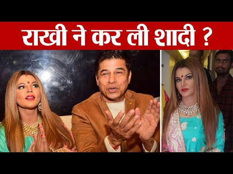 Rakhi Sawant Sindoor & Chhoda look goes viral; Is Rakhi Married | FilmiBeat