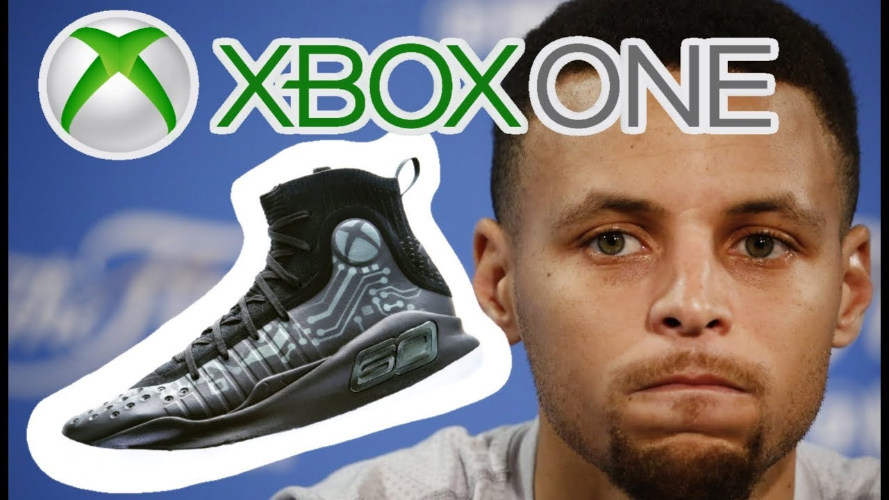 104bb564a19 An Xbox One Under Armour Curry 4 Collaboration Is Stupid! - YouTube