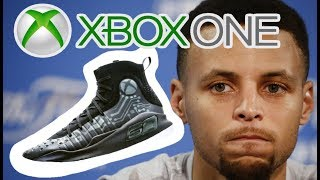 An Xbox One Under Armour Curry 4