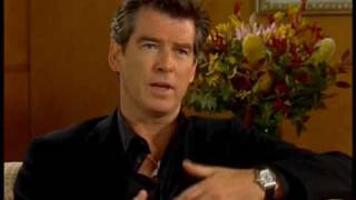 RARE PIERCE BROSNAN 007 JAMES BOND INTERVIEW DIE ANOTHER DAY