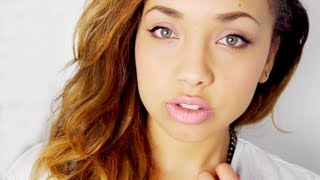 Jasmine Sanders Pretty pink Makeup tutorial ♡
