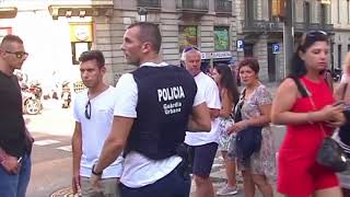 Ситуація в Барселоні після наїзду фургона на пішоходів