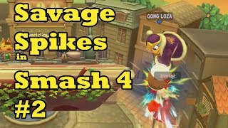 Savage Spikes in Smash 4 #2