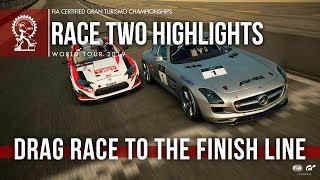 Drag Race To The Line - GT Sport Manufacturer Series Highlights