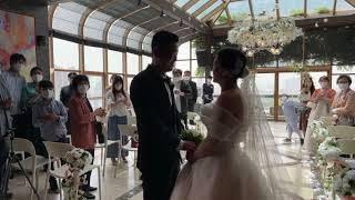 이정주 신랑 ❤ 박진숙 신부 결혼식 라이브 방송(통신오…