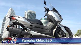 Yamaha XMax 250 tampil gaya premium dan ciri praktikal