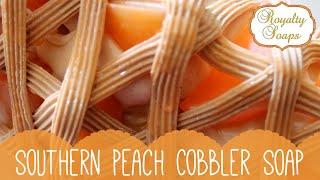 ♕ Southern Peach Cobbler Soap ♕