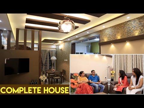 Mr. Charan Manjunath's House | Interior Design | Radiant White Orchid Apartment | Bangalore