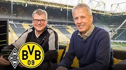 """I hate unprofessional behaviour!"" | Lucien Favre joins Matchday Magazine |  M'gladbach - BVB"