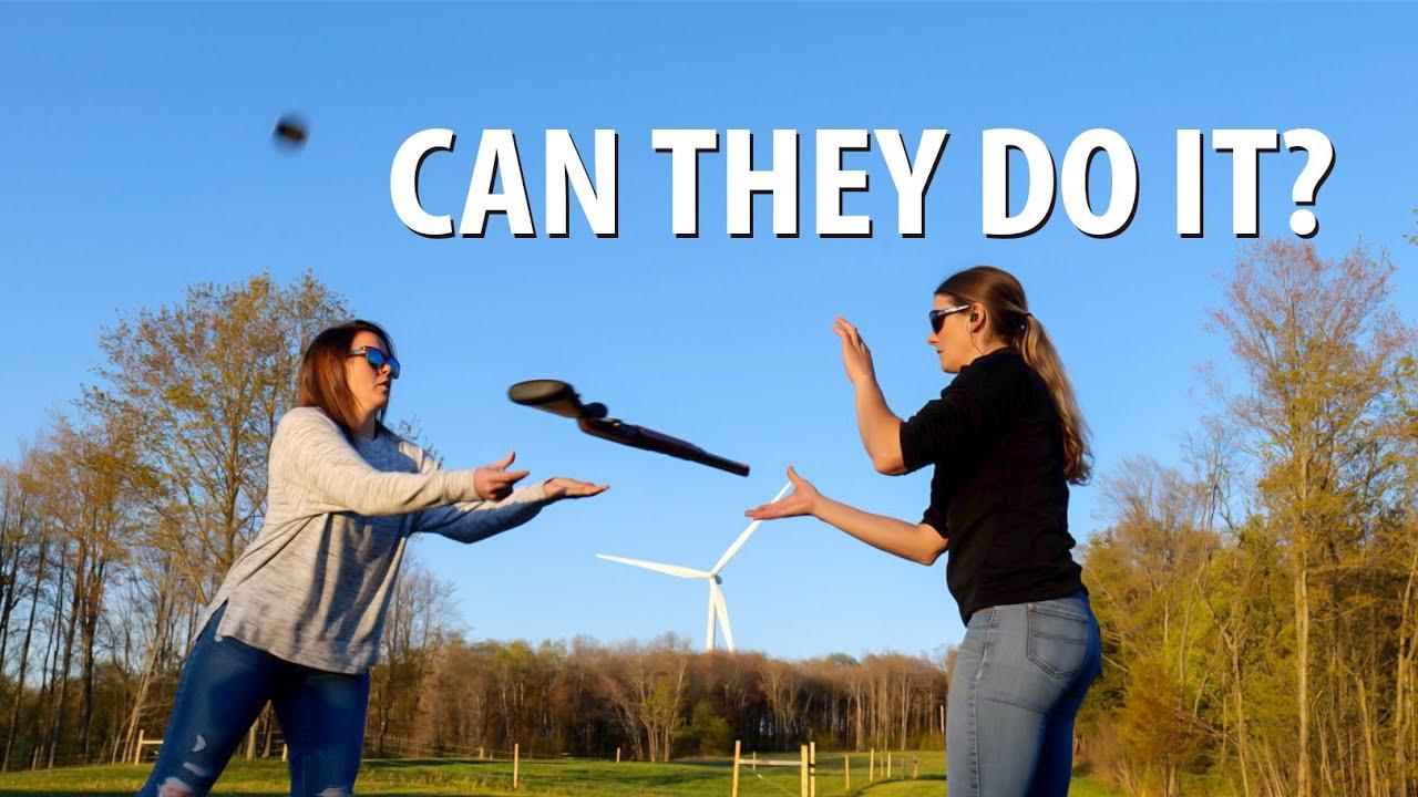 Teaching Nikki Boxler a Trickshot