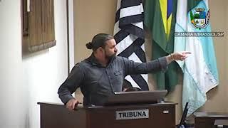 17ª Sessão Ordinária - Vereador Daniel Sotto