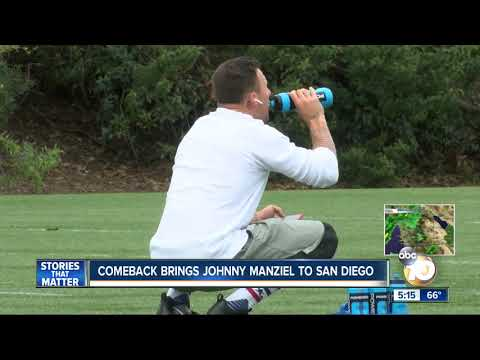 Comeback brings Johnny Manziel to San Diego
