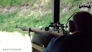 На полигоне с Mauser 98k (маузер 98К) | ЕЕ88