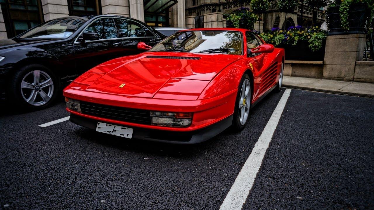 80s SUPERSTAR: Ferrari Testarossa - YouTube