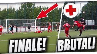 Spannendes POKALFINALE! Krasses Kreisliga Spiel ft harten Fouls, Toren & mehr! PMTV
