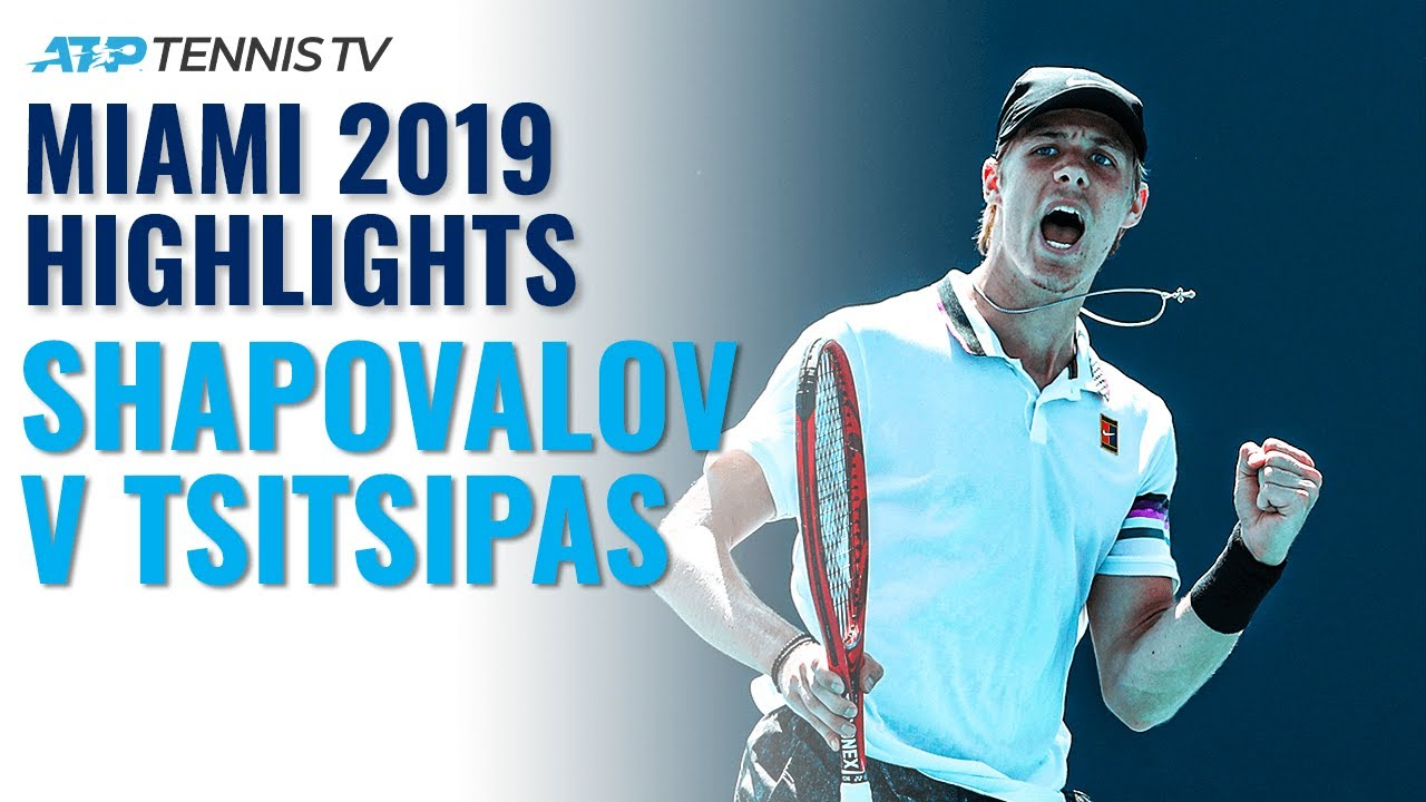 Extended Highlights: Denis Shapovalov v Stefanos Tsitsipas | Miami 2019