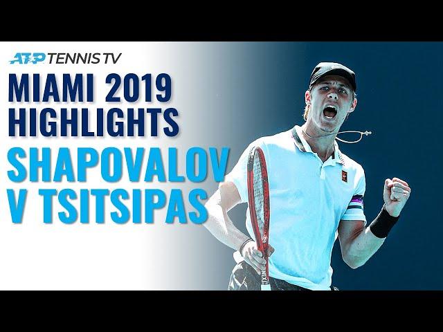 Extended Highlights: Denis Shapovalov v Stefanos Tsitsipas | Miami 2019