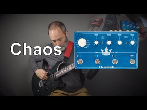 Angelic Chaos with the TC Electronic Flashback Triple Delay!