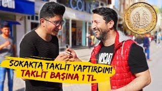 BİR TAKLİT 1 TL! / SOKAKTA PARA DAĞITMAK / YARIŞMA!