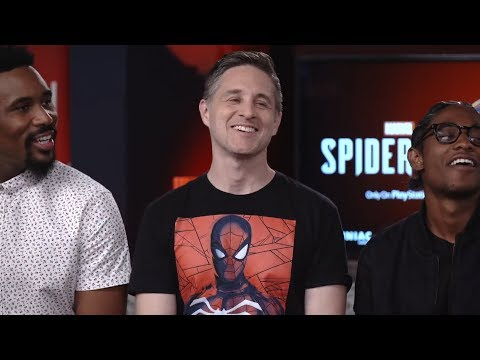 Marvel's SpiderMan Cast