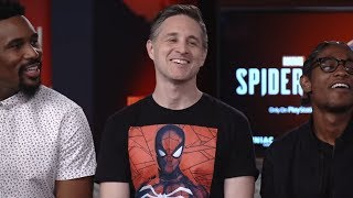 Marvel's Spider-Man Cast Interview