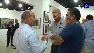 """افتتاح المعرض التشكيلي """"انسان"""" للفن المعاصر - (20-8-2017)"""