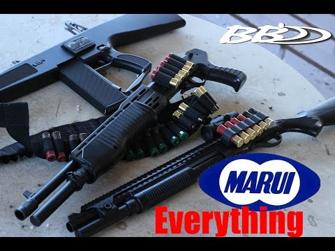 BB Dynamics | Tokyo Marui Shotguns, Spring, Gas, & Electric Overview