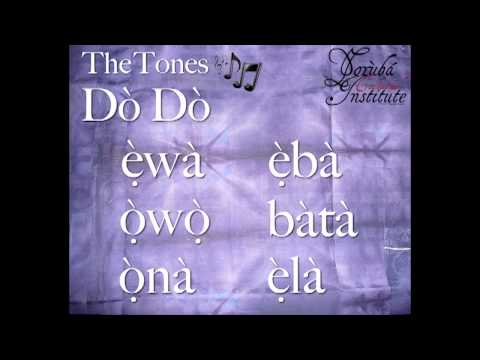 YCI - Learn the YORUBA Tones.