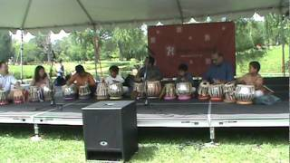 Dragon Festival 2010 - School of India for Languages and Culture (SILC) - Tabla
