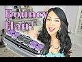 EASY Bouncy Curls with Hot Rollers - itsjudytime hair tutorial