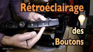 Réparation du  Rétroéclairage 💡 des Boutons du Tableau de Bord 🚙 Rodius