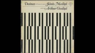 Silent Tone Record/ヤーニス・メディンシュ:ダイナ(24の前奏曲)/アルトゥール・オゾリンス/クラシックLP専門店サイレント・トーン・レコード