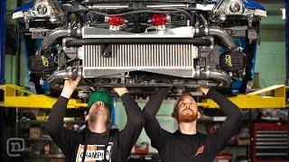 Tuerck & Forsberg Epic 370z And 240sx Drift Car Builds: Drift Garage Ep. 201