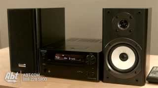 Onkyo CD Receiver System CS445 Overview