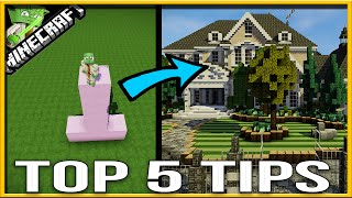 5 Minecraft Mansion Tips - A Builders