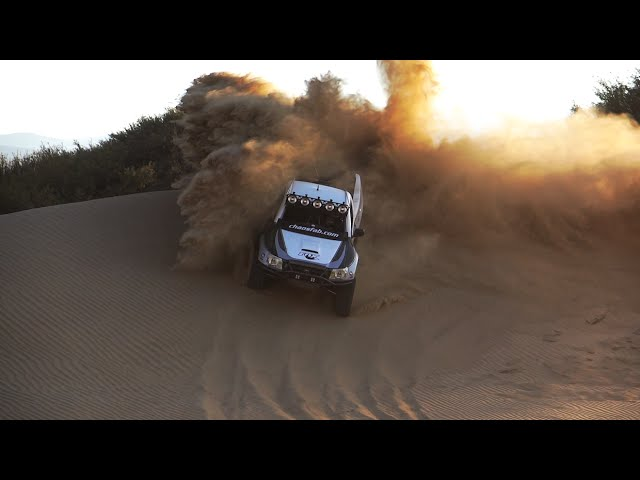 Toyota Tacoma Test Session with Total Chaos Long Travel Suspension