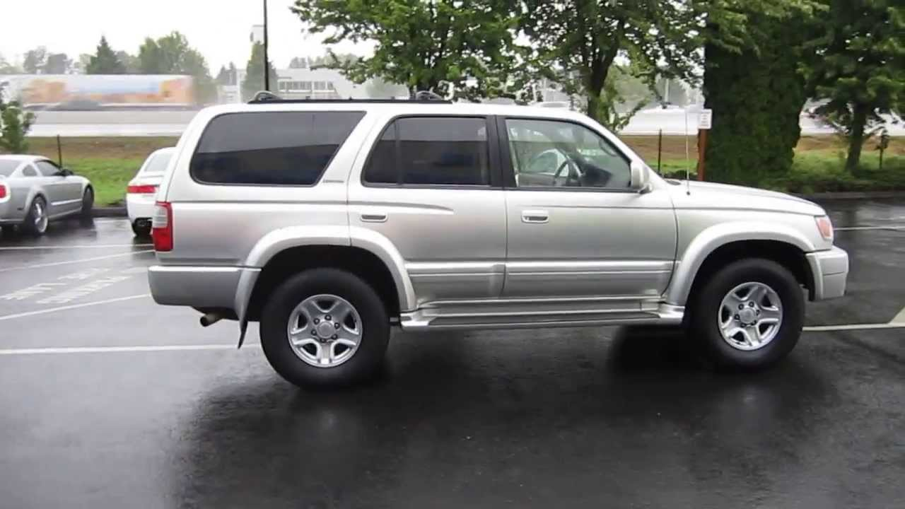 High Quality 2000 Toyota 4Runner, Millenium Silver   STOCK# 731097   YouTube