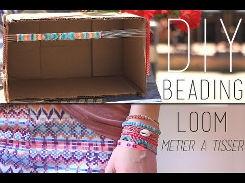 Diy Fabriquer Son Metier A Tisser Beading Loom English Subs