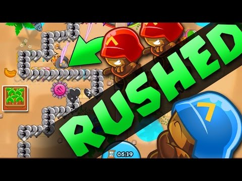 Bloons TD Battles  ::  STOP PICKING ON ME!!  :: RUSHING THE ENEMY!