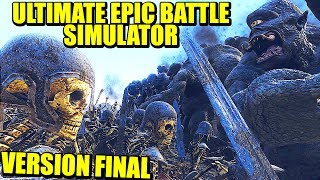 CICLOPES, ESQUELETOS, ELFOS - VERSIÓN 1.0 ULTIMATE EPIC BATTLE SIMULATOR thumbnail