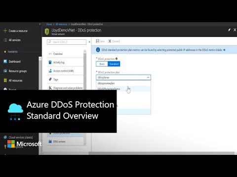 Azure DDoS Protection Standard Overview