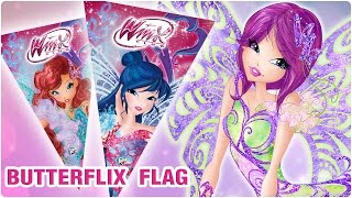 Winx Club - Art&Craft: Butterflix flags!