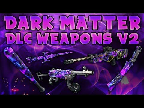 BO3 ALL DARK MATTER DLC WEAPONS - MVP (Bat), HG40, RSA Interdiction, Carver & Malice