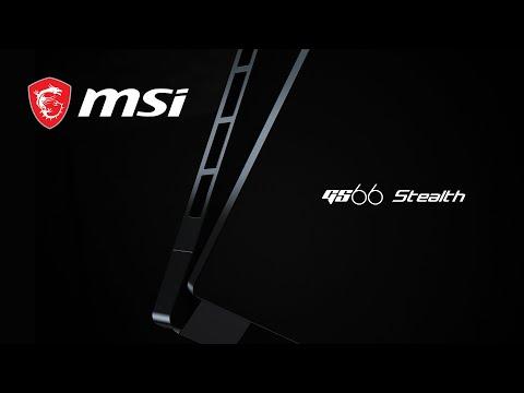 GS66 Stealth – Sharper In Core Black | MSI