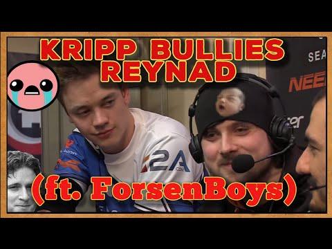 Kripp bullies Reynad (ft. Forsen trying not to laugh)